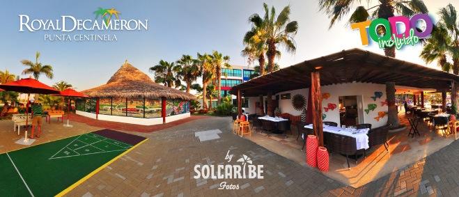 Hotel Decameron Punta Centinela piscina
